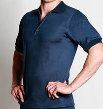 Load image into Gallery viewer, Men's Merino Polo Shirt