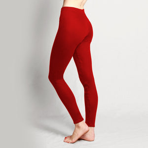 Merino Leggings Red