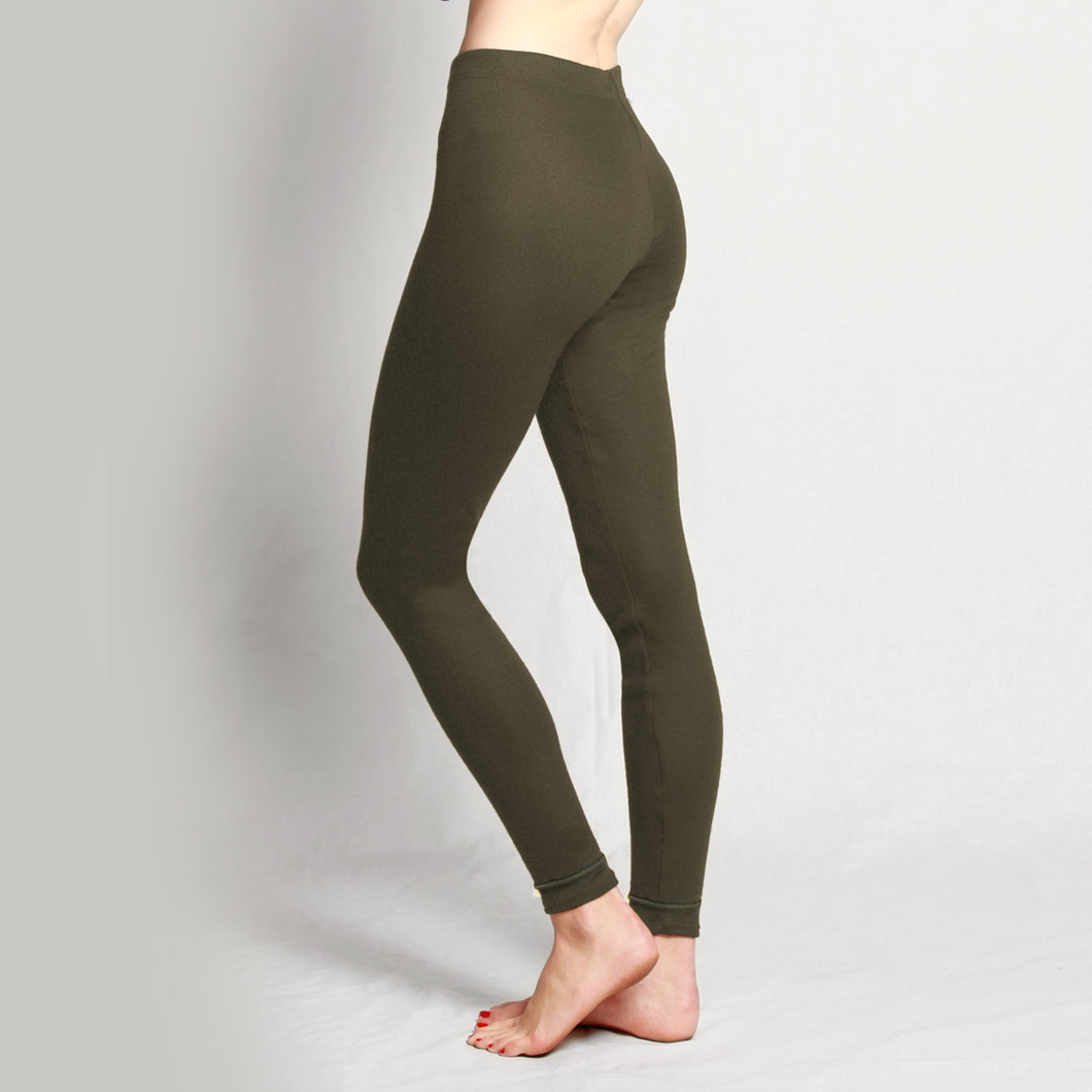 Merino Light Leggings olive