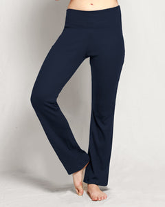Merino Straight Leg Pants Navy