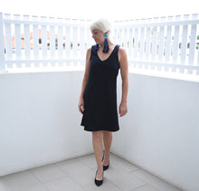 Load image into Gallery viewer, Merino Short Shift Dress - Reversible