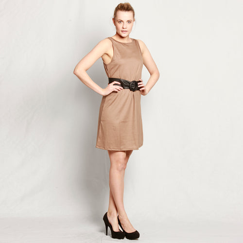 Merino Short Shift Dress - Reversible