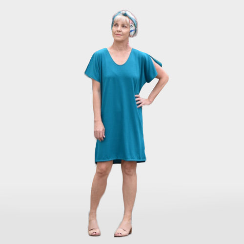 Merino T-shirt Dress