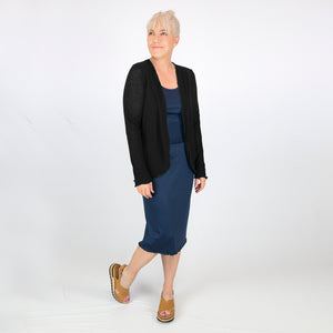 Merino Light Cardigan Black