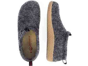 Vent Wool Slip On Shoes