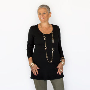 Merino Tunic Top