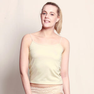 Women's Merino Camisole Natural