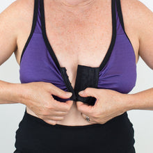 Load image into Gallery viewer, Merino Front Opening Bra Wire-Free