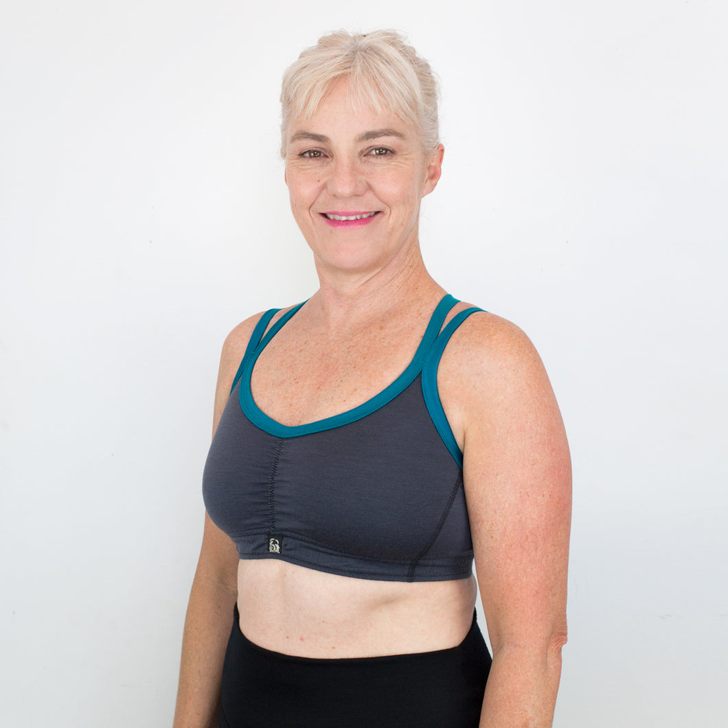 Merino X-Back Sports Bra