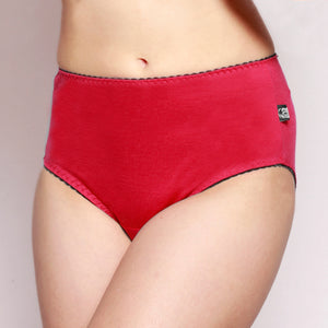 Womens Full Brief Merino underwear Hot Pink