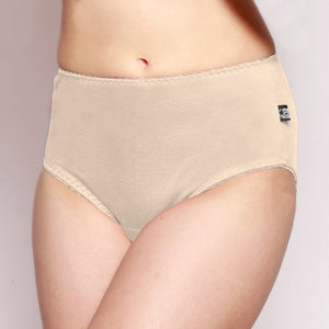Womens Full Brief Merino underwear Latte