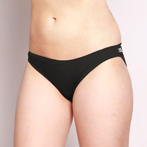 Merino Bikini Hipster Brief Black