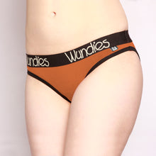 Load image into Gallery viewer, 100% Merino Hipster Wundies 3 Pack Orange