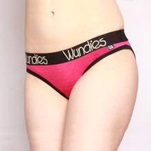 Load image into Gallery viewer, 100% Merino Hipster Wundies 3 Pack Pink