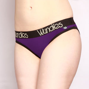 100% Merino Hipster Wundies 3 Pack Purple
