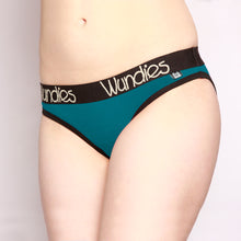 Load image into Gallery viewer, 100% Merino Hipster Wundies 3 Pack Teal