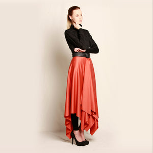 Merino Serappe Skirt Orange