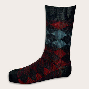 #7504J Men's Jacquard Sock