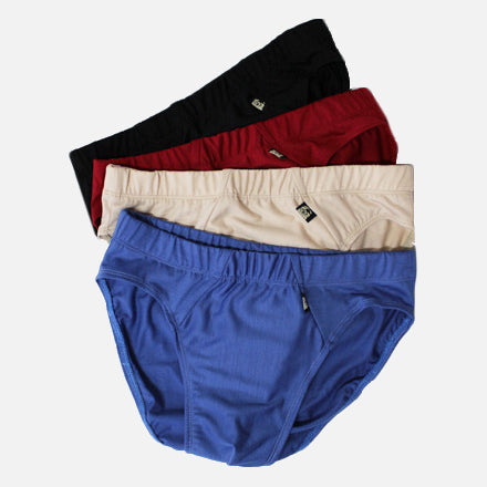 4 Pack Mens Merino Classic Briefs