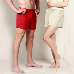 Women and men boxer shorts