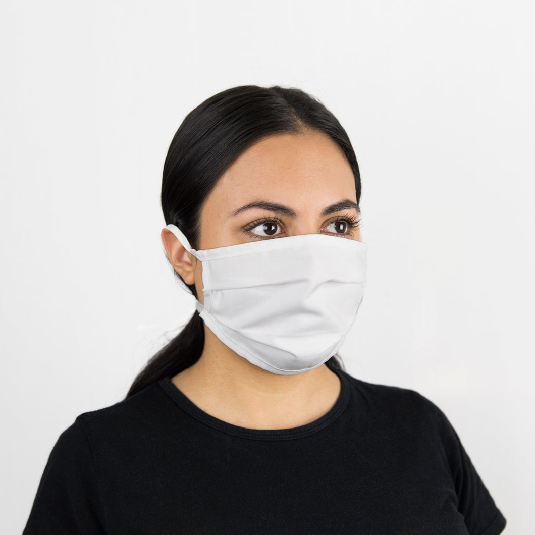 #735 Cotton & Merino Face Mask