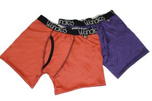 SALE 2 x Mens Fitted Boxers with Fly - Old Style