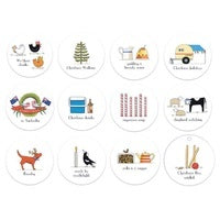 Christmas in Australia Swing Tags 12 Pack