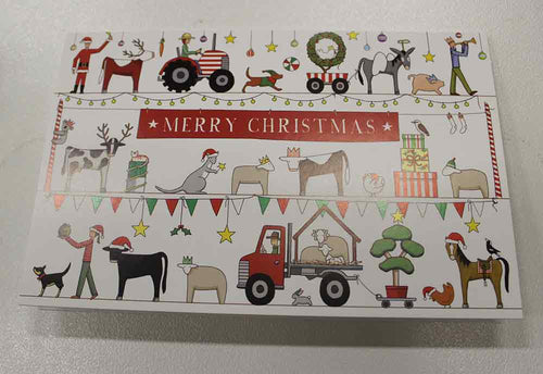 The Australian Christmas Parade Christmas Cards 10 Pack