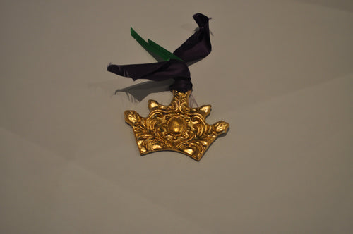 Crown Mardi gras Ornament                                              #10615