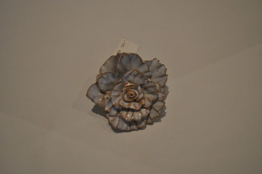 Large Rose Flower Pottery