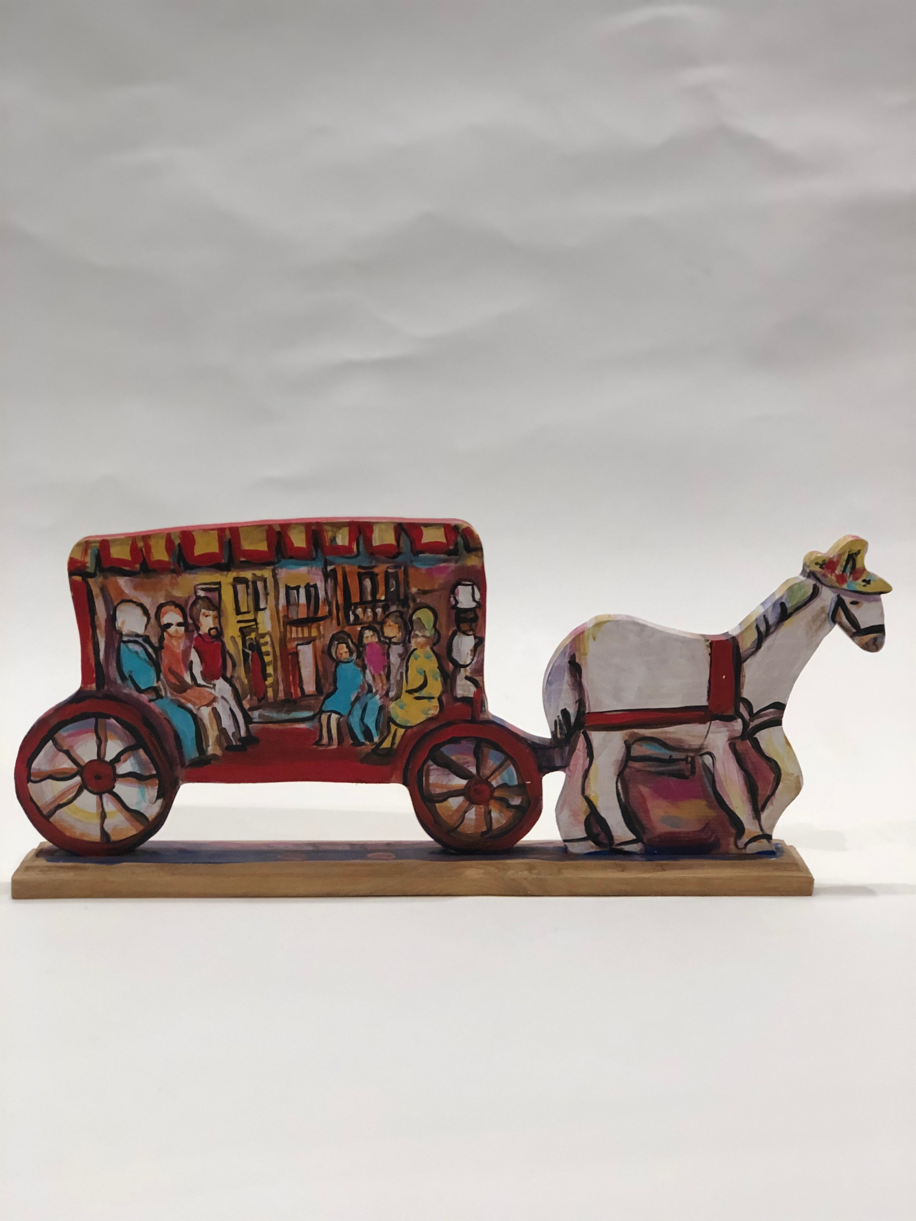 Large Horse and Carriage