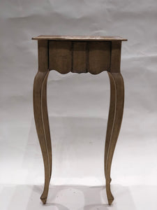Petite Italian Side Table with Drawer