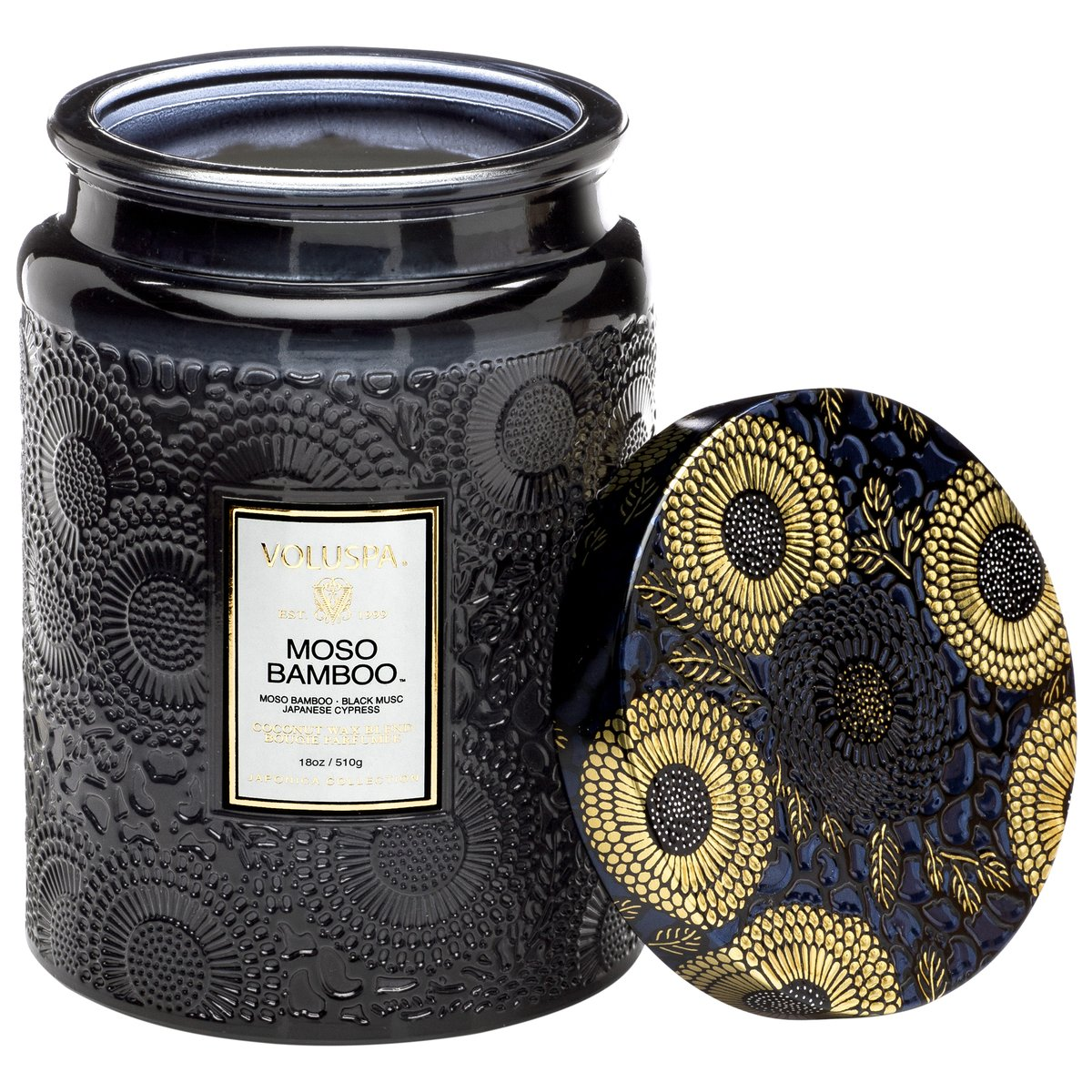 Voluspa Moss Bamboo Small Candle