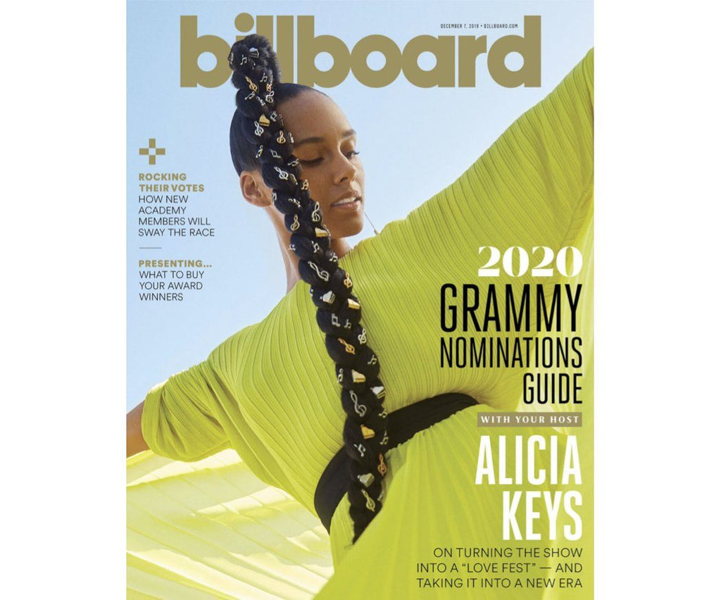 Alicia Keys wears ALMASIKA on Billboard