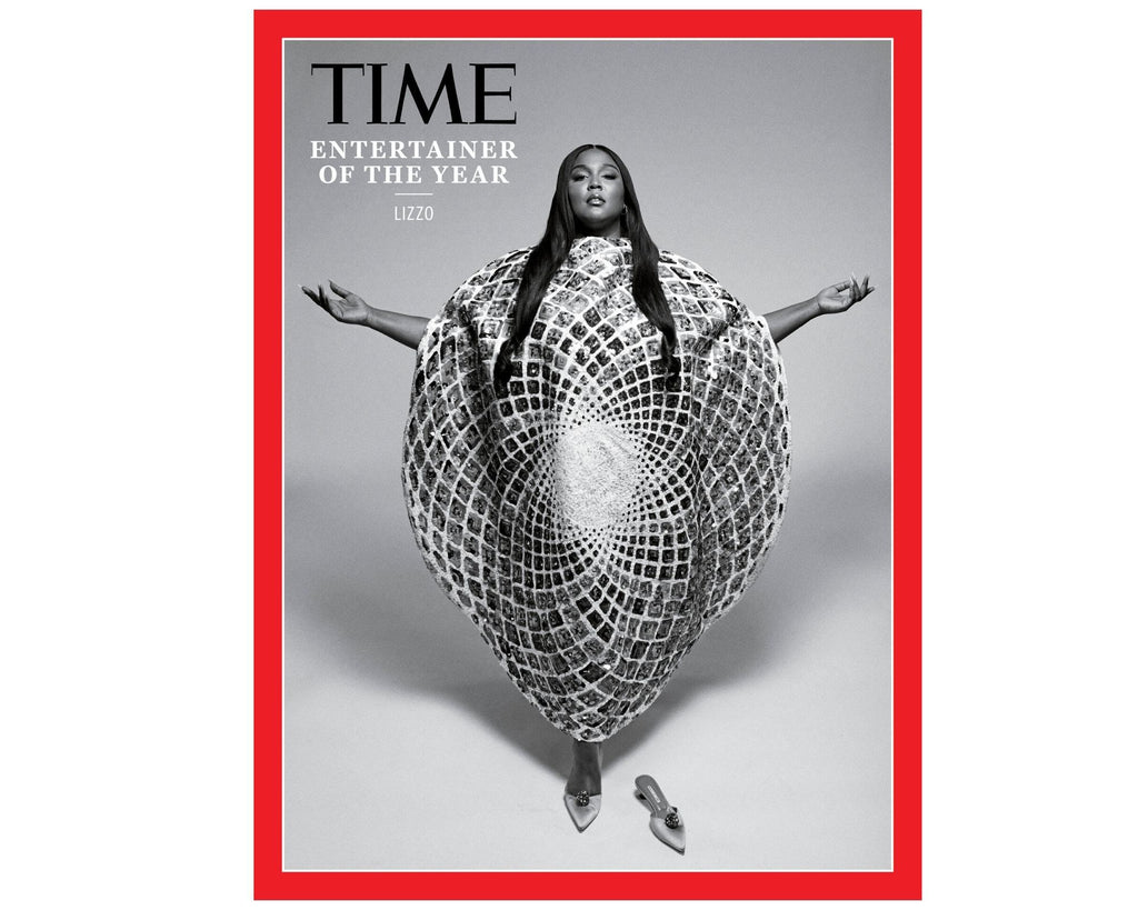 Lizzo Wears ALMASIKA for the cover of TIME