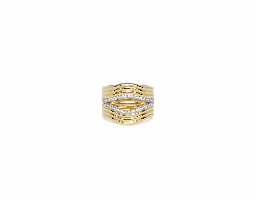 Berceau Huit 18K Gold & Diamond ring Ring ALMASIKA