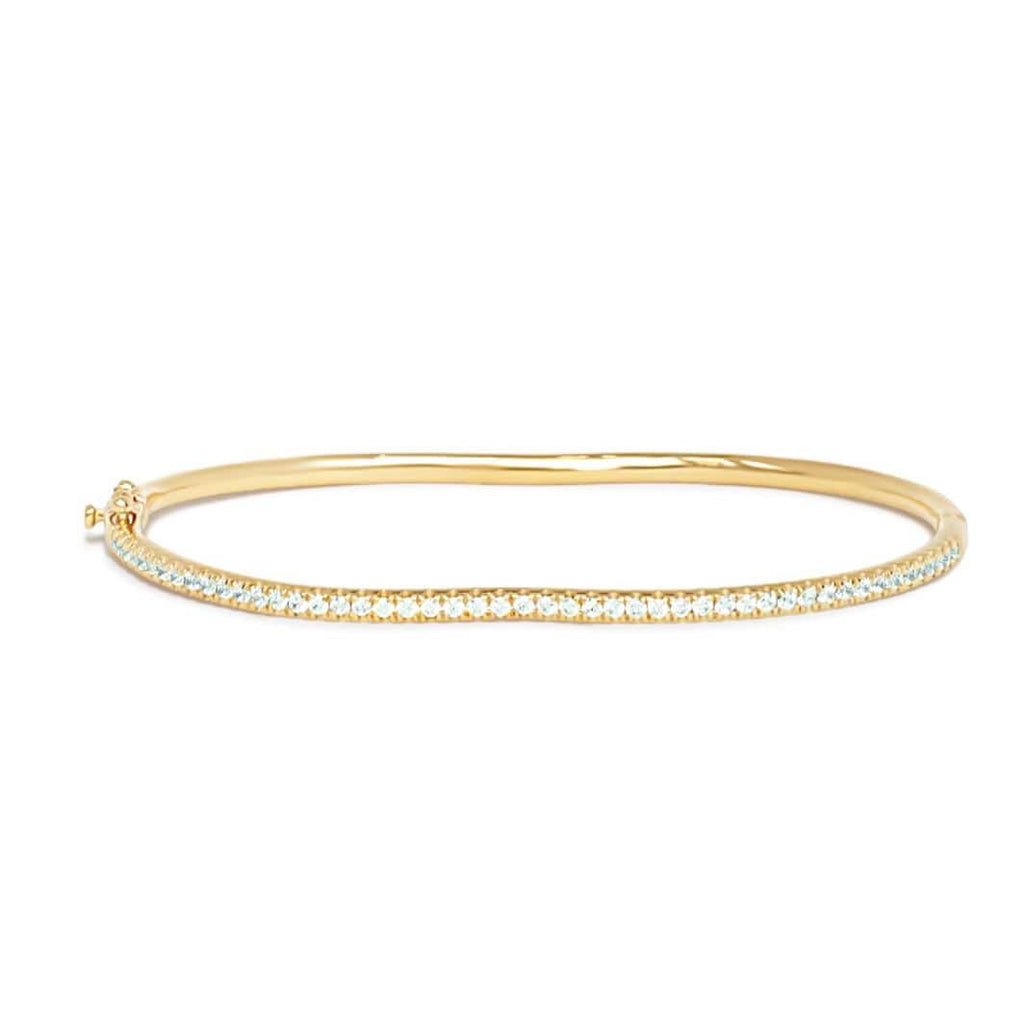 BERCEAU Pave Diamond Berceau Bangle bracelet ALMASIKA