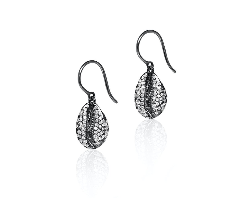 LE CAURI ENDIAMANTÉ Diamond drop earrings - Full Pave earrings ALMASIKA