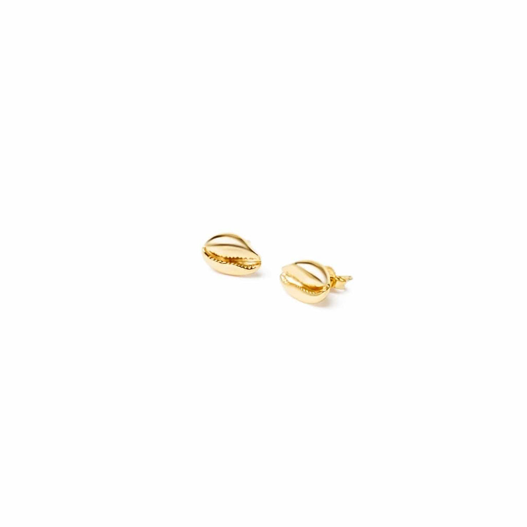 LE CAURI ENDIAMANTÉ stud earrings -18k Yellow Gold earrings ALMASIKA