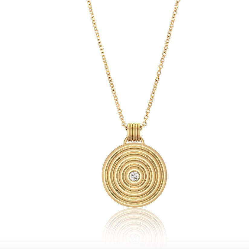 Sagesse - Universum Medallion 23mm Necklace ALMASIKA