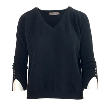 Load image into Gallery viewer, Paige Cashmere V-Neck Sweater