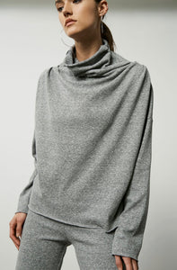 Cowl Turtleneck Pullover