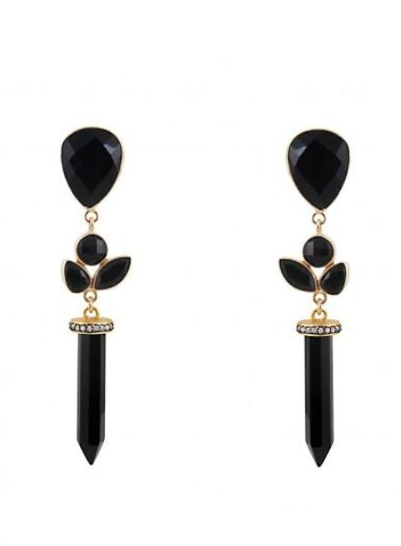 Black onyx drop earrings. Shop jewelry and more. Free shipping on orders of $150+