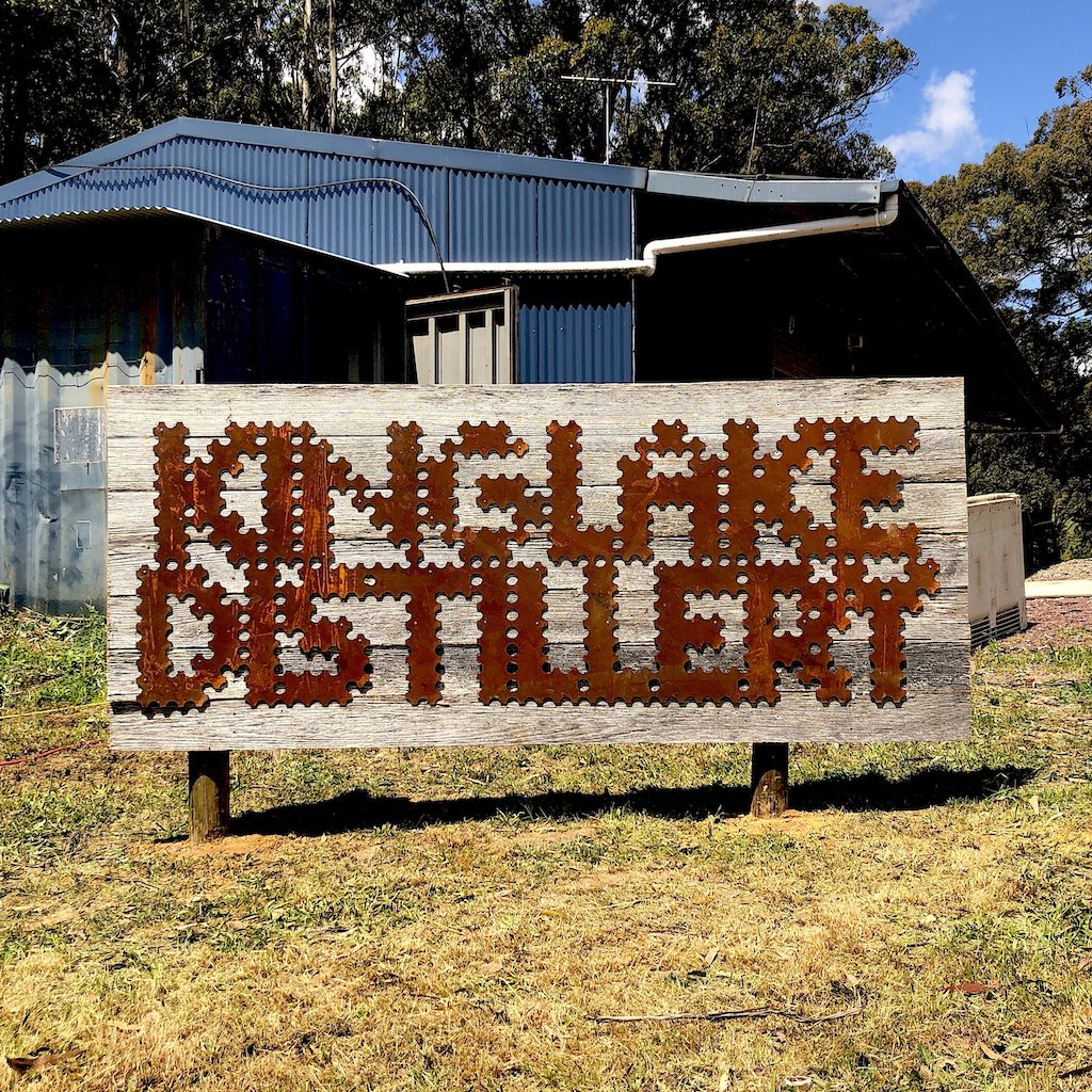 Kinglake Distillery sign