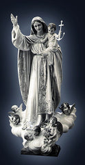 Custom statues of Our Lady