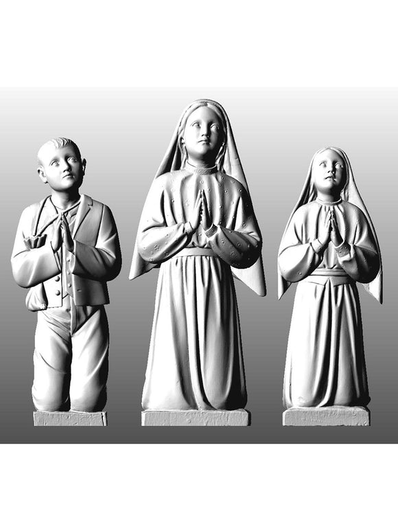 Fatima Shepherds Kneeling, Set of 3