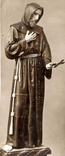 Saint Francis with Hood