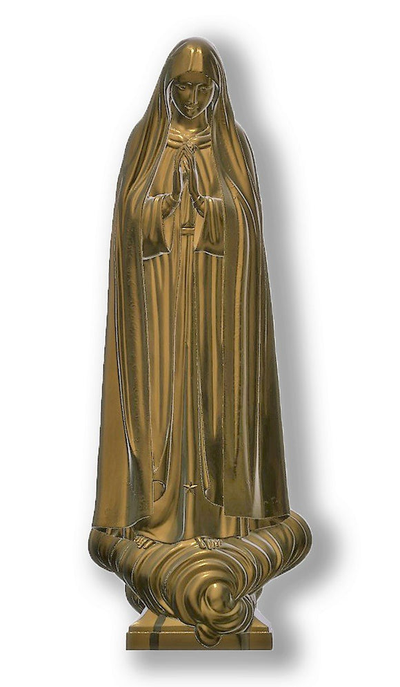 Lady of Fatima Capelinha 02, Bronze