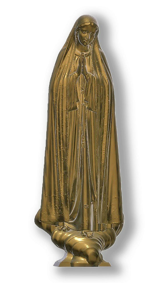 Lady of Fatima Capelinha 03, Bronze