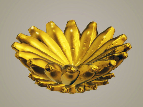 Banana Round Center Piece, in Various Colors